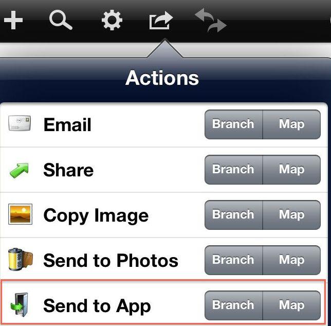 Send to App