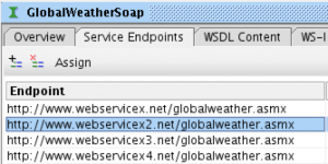 GlobalWeather service interface