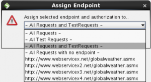 Assign endpoint dialogue