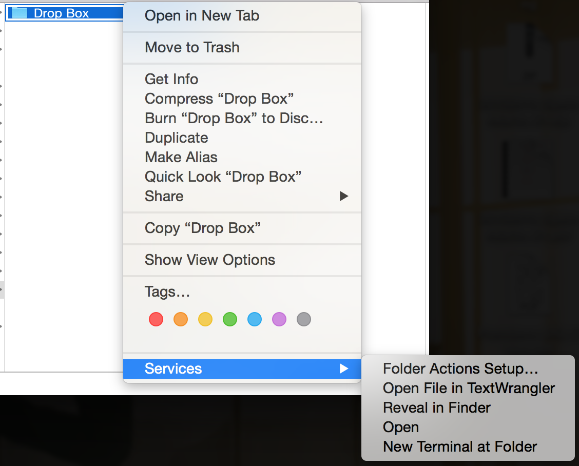 """Activate """"Open folder in Terminal"""" for Finder in Mac OS X"""