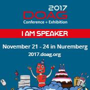 I'm a Speaker - DOAG 2017